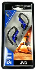 HAEB75A JVC Sport Style Ear-Clip Headphones/Earphones (Blue) for cd/radio/mp3