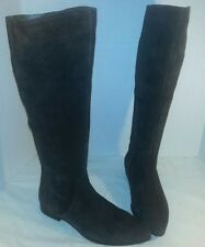 NEW FREE PEOPLE SEYCHELLES DELRIDGE BROWN SUEDE  TALL KNEE HIGH BOOTS SIZE US 8