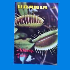 Urania 1-1988 Brecht-Haus Sydney Australien Schloß Friedenstein Mimikry Gotha A
