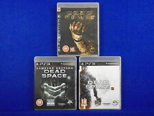 ps3 DEAD SPACE x3 Games 1 +2 + 3 *x Survival Horror Collection PAL Playstation 3