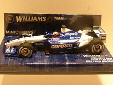 Minichamps 1:43 Juan Pablo Montoya Williams BMW Launch Car F1 2002
