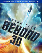 Star Trek Beyond [3D Blu Ray/Blu Ray/DVD/Digital HD] Brand New Sealed - Preorder