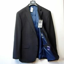 "New M&S Performance PURE WOOL Tailored BLAZER JACKET ~ Size 42"" Med. ~ CHARCOAL"