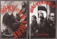 Sons of Anarchy Seasons 3 & 4 - DVD TV Shows Three Four BRAND NEW