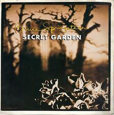 BRUCE SPRINGSTEEN  Secret Garden / Thunder Road live  rare 45 with PicSleeve