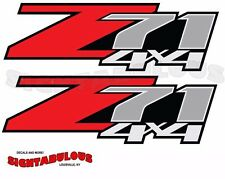 2 Z71 3M Off Road 4x4 sticker decal Chevy Silverado GMC Sierra Colorado trucK