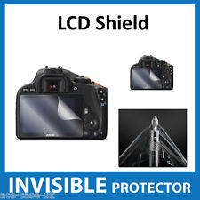 Canon EOS 100D, Rebel SL1, Kiss X7 Dslr INVISIBLE LCD Screen Protector Shield