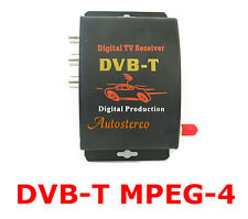 IN CAR DVB-T MPEG-4 DIGITAL TV TUNER Receiver