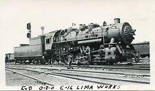 6A819 RP 1940/50s C&O CHESAPEAKE & OHIO RAILROAD ENGINE #245 NEWPORT NEWS VA