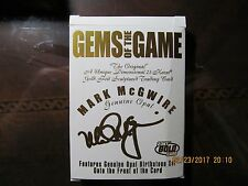 Mark McGwire Gems of the Game 4389/6262 LOOK AT PICTURES 23 KT GOLD Card