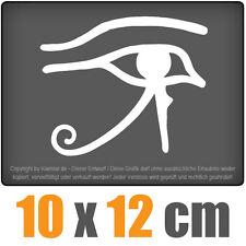 Auge Des Ra 10 x 12 cm JDM Decal Sticker Aufkleber Racing Weiß, Scheibenaufklebe