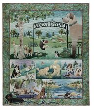 McKenna Ryan Quilt Pattern Dog Park Complete Set 7 Patterns Free US Shipping