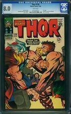 Thor #126 CGC 8.0 1966 1st Issue! Avengers! WHITE pages! B9 1 197 cm sale
