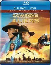 Cowboys & Aliens (Blu-ray/DVD, 2011, 2-Disc Set)