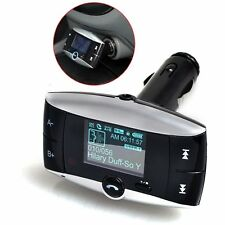 """1.5"""" LCD screen Wireless Handsfree Car Kit/Adapter for cellphones IOS & more"""