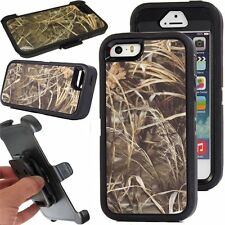 for iphone 5/5s case new hybrid outer defender max 4 bk series case w/belt clip
