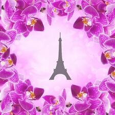 Eiffel - 2, Airbrush Nail Stencil self-adhesive 30 pcs