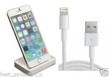 Sync Charge Cradle Dock Station Charger For Iphone 6/6 PLUS + Free 1M usb cable