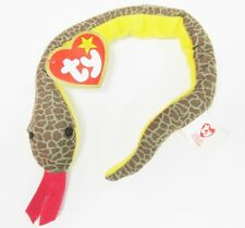 Ty Teenie Beanie Baby Slither, the Snake #2 of 18 2000 Series * MINT Brand New