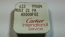 Cartier Link MUST 21 PM MX000foz, S/S (stainless steel), NOS, Factory Sealed