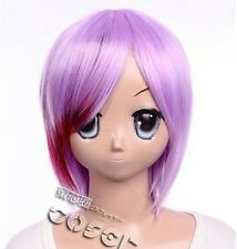 W-114 Vocaloid Type-h Meiko sakine cosplay peluca Wig rosa pink lila Purple