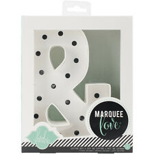 """Heidi Swapp Marquee Love Letters, Numbers & Shapes 8.5""""-Ampersand"""