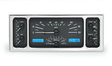 Dakota Digital 35 36 39 Ford Car Analog Dash Gauges Black Alloy / Blue VHX-35F