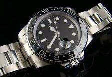 Parnis 11 GMT / Submariner Watch CERAMICA lunetta SS-mozzafiato