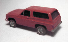 N-Scale 1/160 Vehicle, Auto, Willmodels '76 Chevy K5 Blazer, Resin Kit