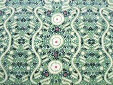 Australian Aboriginal Aborigine Water Dreaming Green Fabric Yard
