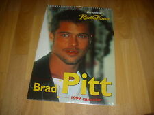 Radio Times  Official  BRAD PITT  Actor  Original Sealed  CALENDAR  1999