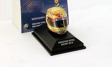 S. Vettel Red Bull RB8 Formel 1 Weltmeister 2012 GP Austin Texas Helm 1:8 Minich