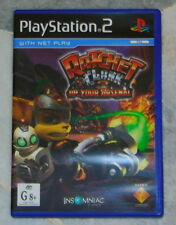 PS2 RATCHET AND CLANK 3 + ALIEN HOMINID Playstation 2 Games PAL AU *Disc Fog*