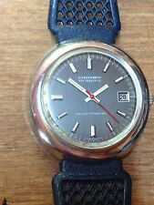 Montre Vintage Rare Derby Swissonic Electronic Sweep Second Hybrid 1980's Watch