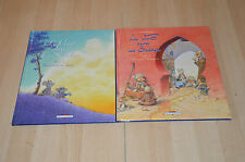 lot 2 BD Le vent dans les sables tomes 1 et 2 - toutes EO / Michel Plessix