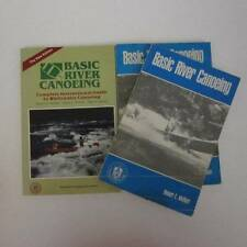 Basic River Canoeing American Camping Assn 1968,1985 Lot of 3 COPIES