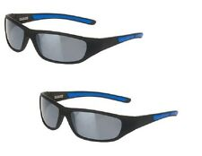 2 pairs Foster Grant Black & Blue Active Polarized Sport Sunglasses MSRP:39.98 D