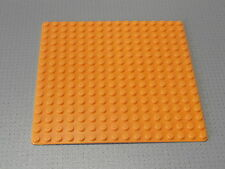 Lego Base Plate Building Board 16 x 16 Studs Orange - Good Condition (3867)