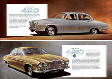 JAGUAR 420 & 420G RETRO A3 POSTER PRINT FROM CLASSIC 60's ADVERT