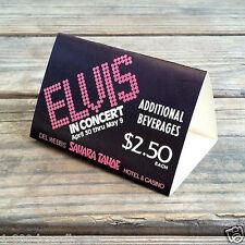2 Vintage Original ELVIS PRESLEY 1970s TAPLE TOP TRIPODS NOS Casino Sahara