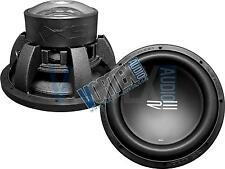 """Two RE Audio 12"""" 4800 Watt Car Stereo Competition Subwoofer Subs SXX12D4v2 4Ohm"""