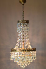 Vintage Ceiling Fixture Antique French Light Crystal Chandelier lighting Lamp