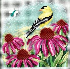 Mill Hill Buttons Beads Counted Cross Stitch Kit ~ GOLDFINCH #14-1712 Sale