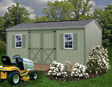 Best Barns 16' x 10' Cypress Wood Shed Kit