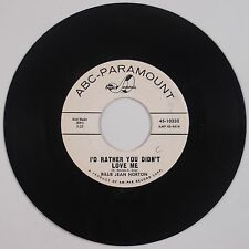BILLIE JEAN HORTON: Tell Him I Can't See Him Anymore ABC DJ Promo Country 45 NM-