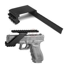 Universal Tactical Pistol Scope Mount Picatinny Weaver Flashlight Laser Rail