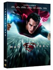 MAN OF STEEL  :  SUPERMAN       + UNE IMAGE ELECTROSTATIQUE         --  DVD NEUF