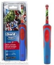Oral-B MARVEL AVENGERS Stage Power Vitality Electric Rechargeable Kid Toothbrush