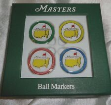 The Masters 2015 Ball Marker 4 Pack Variety of Colors - Great Gift