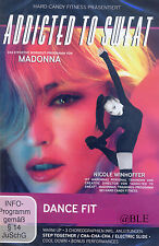 DVD + Addicted to Sweat + Dance Fit + 3 Choreographien +  Workout + Madonna +